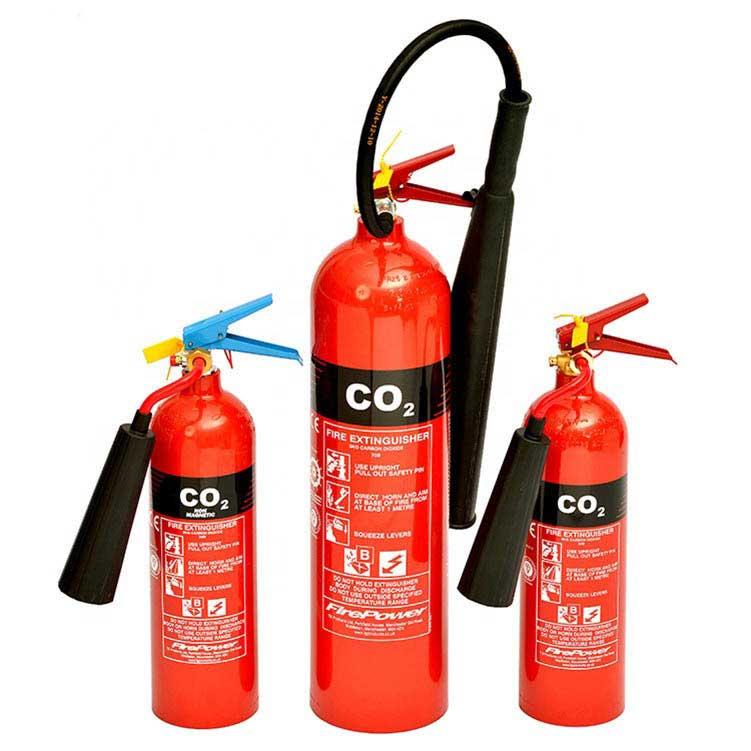 کپسول آتش نشانی گازی