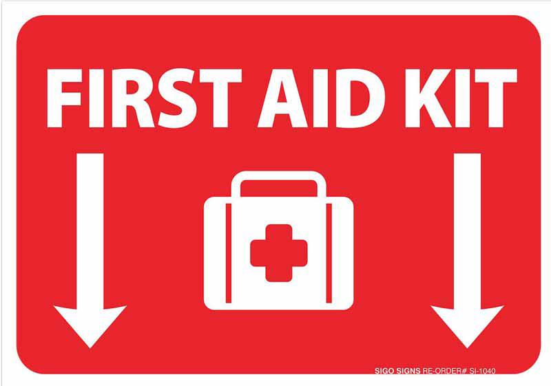 تابلو ایمنی کمک های اولیه