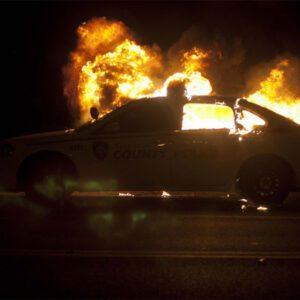 آتش سوزی خودروها