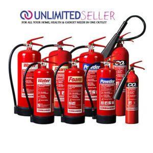 انواع کپسول و خاموش کننده های آتش نشانی