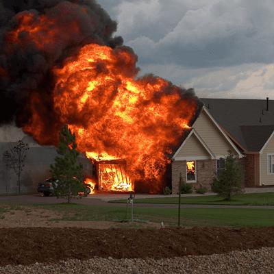 راه های حفاظت از ساختمان در برابر آتش سوزی