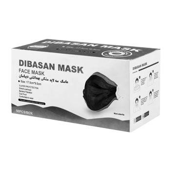 ماسک تنفسی دیباسان بسته 50 عددی