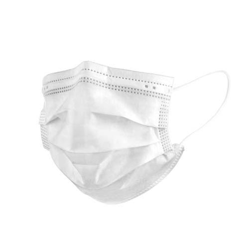 ماسک سه لایه سفید