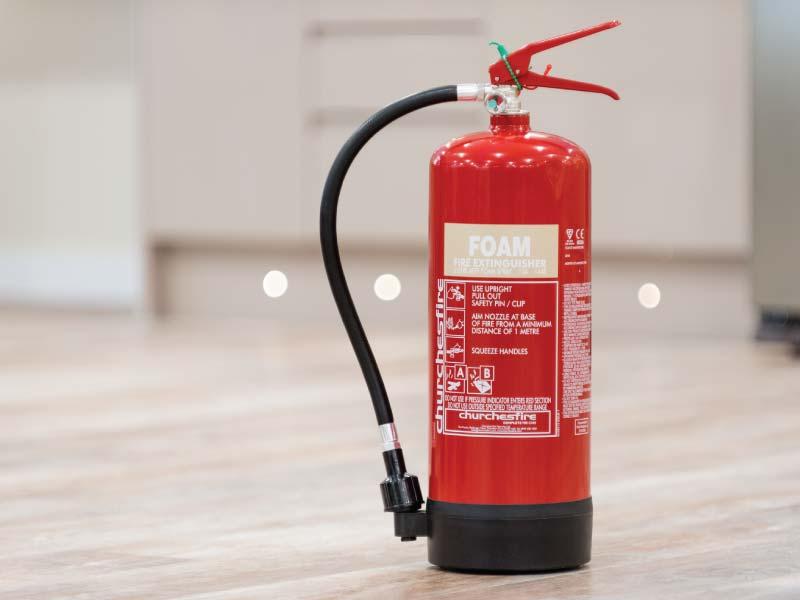 خاموش کننده فوم آتش نشانی